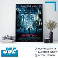 2010 INCEPTION - Movie Film Poster Print A3 A4 A5 - Home Decor/Wall Art