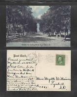1909 DULUTH AVENUE LOOKING NORTH SIOUX FALLS SOUTH DAKOTA POSTCARD