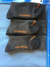 14 Grey Weatherproof  Wool Blend OUTLAST LIGHT works sport outdoor Sock Sz 7-11