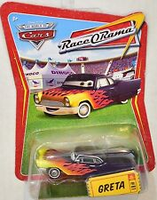 DISNEY PIXAR THE WORLD OF CARS RACE ORAMA GRETA #81
