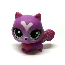 "Cute Littlest Pet Shop Loving Cat Animal green eyes 2"" Hasbro LPS Figure kid toy"