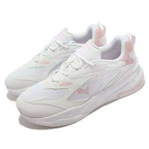 Puma RS-Fast Tonal White Pink Lady Men Unisex Casual Lifestyle Shoes 375639-03