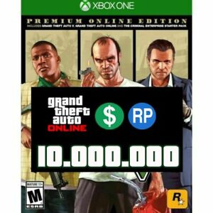 GRAND THEFT AUTO V - PREMIUM ONLINE MONEY CASH (10,000,000 ) READ DESCRIPTION