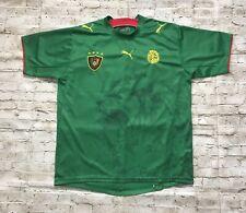 Cameroon 2006 2007 Puma Home Football Soccer Shirt Jersey era Eto'O Size Xl