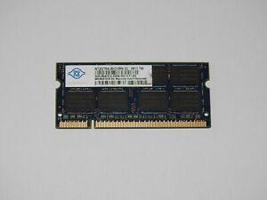 2GB Nanya DDR2 667 MHz  Notebook RAM 5300S Arbeitsspeicher