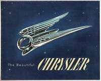 "[61456] 1951 ""THE BEAUTIFUL CHRYSLER"" AUTOMOBILES SALES BROCHURE"