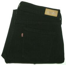 LEVI'S 505 BNWOT WOMENS SZ 10 W30 X L30 BLACK STRAIGHT LEG JEANS FREE POST