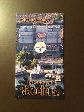 Pittsburgh Steelers 2014 NFL pocket schedule - McDonald's