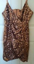 French connection sequin dress UK 16 US12