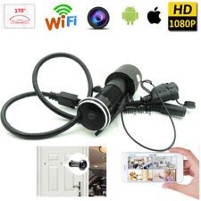 1080P HD wireless WIFI IP 170D Smart Door Wide angle Peephole camera recorder