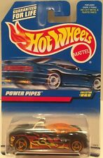 """MIP! 1998 Hot Wheels Collector #869 """"POWER PIPES"""" with Saw-Blade wheels  10D"""