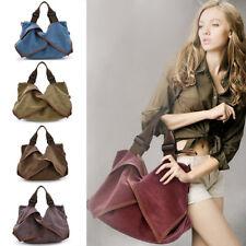 Women Messenger Hobo Vintage Canvas Handbags Big Travel Crossbody Shoulder Bag