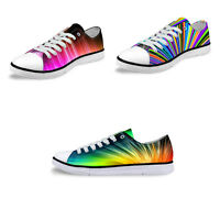 Low Top Canvas Shoes Women's Men's Fashion Lace Up Sneakers Casual Sports Shoes