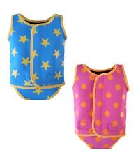 Indigo Kids baby toddler girl boy swim suit neoprene wrap wetsuit swimwear UV