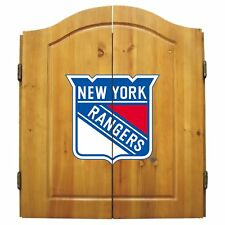 New York Rangers Dart Cabinet Set