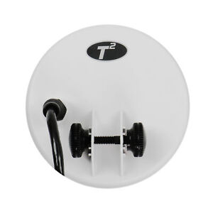 """Teknetics 5"""" Round White DD Coil for T2 Metal Detector 5COIL-T2"""