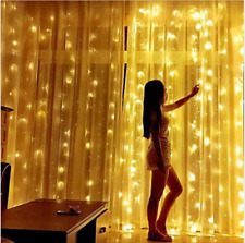 304Led Window Curtain String Light 9.8ft Icical Lights Wedding Party Home Garden