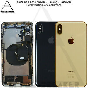 Genuine Apple iPhone Xs Max Rear Back Chassis Housing With Parts Grade AB
