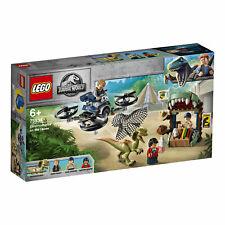 LEGO® 75934 Jurassic World Dilophosaurus auf der Flucht Set - NEU OVP tiptop