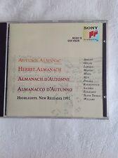 Autumn Almanac Highlights New Releases 1991 CD