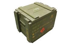 Original Danish Army Wooden Ammo Box Transport Case Used Surplus