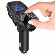 Bluetooth Handfree FM transmitter for iPhone Cell Phone Car Speaker System Audio