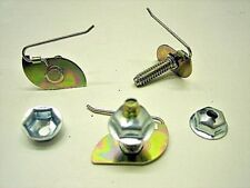 """Moulding Clips W-Nuts 1"""" Plate Width 1/2"""" Plate Width Ford 358560 GM 568792 (12)"""