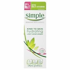 Simple Hydrating Light Moisturiser 12 Hours - 125ml & Travel Size Miscell Water