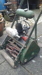Vintage ATCO petrol cylinder mower