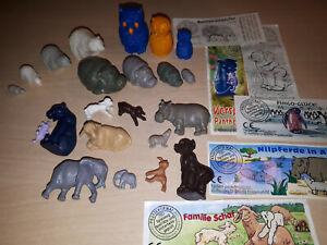Ü-Ei / Tiere - Tierfamilien, Tier in Tier, Tiere mit Jungen - zum Auswählen