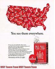 "Pall Mall Mild Cigarettes ""I'm Particular""  14x10 Paper Ad Tavern Trove"