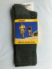 Merino Wool Crew Hiking Sock (Olive) (Woman's - Small - Fits Shoe Size 3-5)