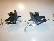 Nice Shimano Deore XT ST-M739 3x 8-Speed Front Rear Index Trigger Shifter Set