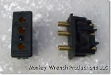 20A Female Panel 2P&G 125V Stage Pin Panel Bates Chassis Mount