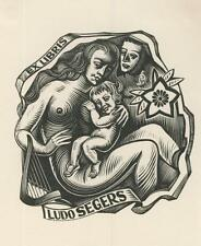 Ex libris Exlibris by LUC DE JAEGHER (1912-1987) Belgium