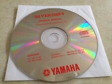 Yamaha YRX700FY YRX700 FY 2009 Workshop Service manual manuel atelier sur CD pdf