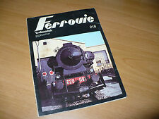 MODELLISMO I FERROVIE ITALMODEL 218 AGOSTO SETTEMBRE 1978 E.633