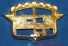1952 - 1953 Cadillac Trunk Crest Bezel Ornament Emblem 52 53