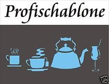 Malerschablone, Malerbedarf, Wandschablone, Dekoration, Schablone - Küchendesign