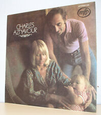 """33 tours CHARLES AZNAVOUR Disque Vinyle LP 12"""" ET BAILLER ET DORMIR - MFP 5486"""