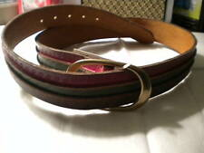 Lucky brand W leather belt, 3 colors, 3 designs.Nwt