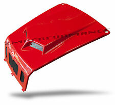 NEW POLARIS RZR 800 RZR 800S 08 - 10 FIGHTING RED SCOOPED HOOD PLASTIC