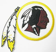 LOT OF (1) NFL WASHINGTON REDSKINS EMBROIDERED PATCH ROUND ITEM # 15