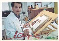 Johannes MARGREITER - österr. Maler und Illustrator, Original-Autogramm!