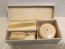 Vintage Baby Brush/Comb/Vanity Box Set in Original Box