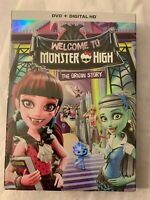 Monster High: Welcome to Monster High 2016 DVD The Origin Story New Sealed