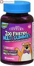 21st Century Zoo Friends Multivitamin Gummy 60 gummies