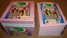 78^ GIRO D'ITALIA 50 BUSTINE FIGURINE + BOX (STICKERS) MERLIN COLLECTIONS 1995