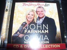 JOHN FARNHAM AND OLIVIA NEWTON-JOHN Two Strong Hearts (Deluxe Edition) CD DVD