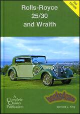 ROLLS ROYCE WRAITH SILVER 25/30 BOOK KING BERNARD